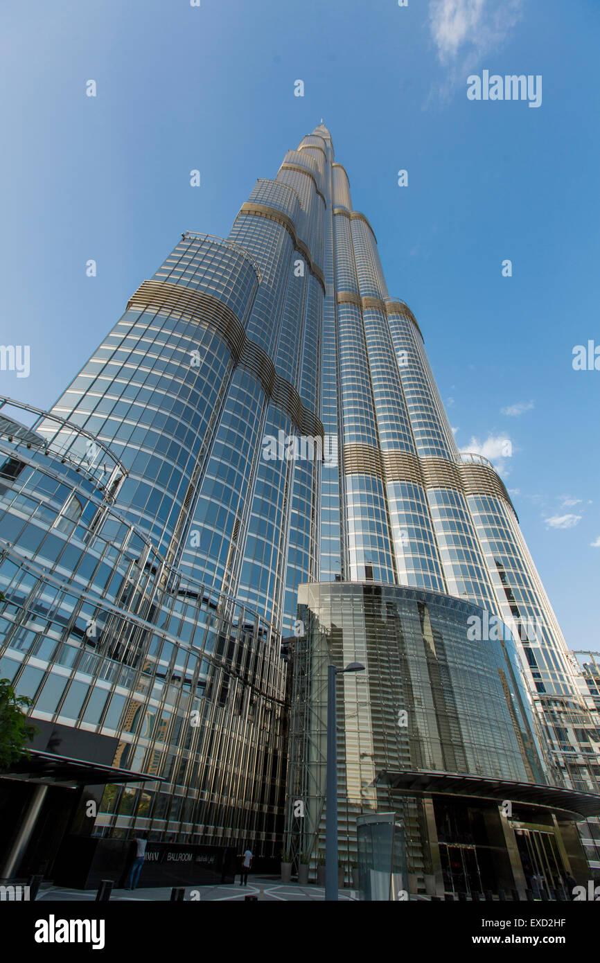 Voir A Burj Khalifa A Dubai Ce Gratte Ciel Est La Plus