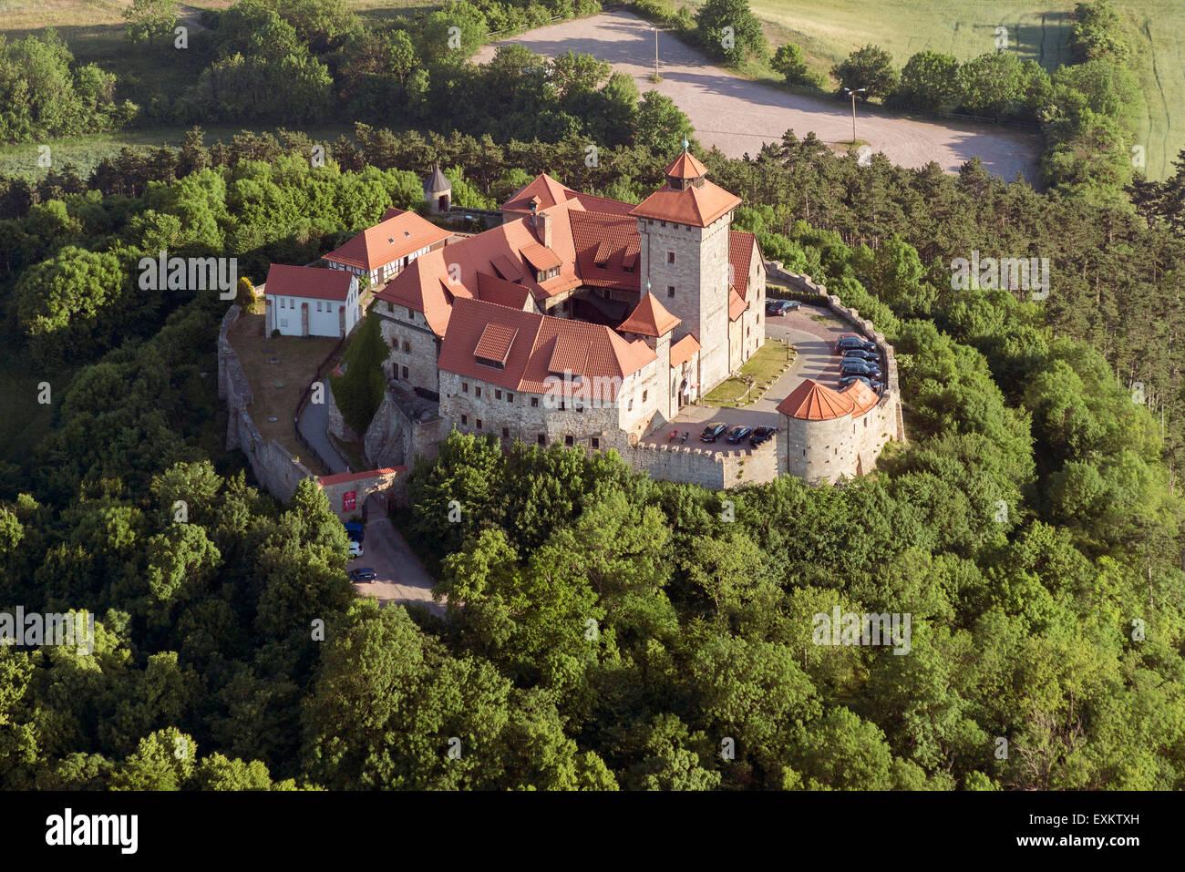Château de Wachsenburg, Thuringe, Allemagne Banque D'Images