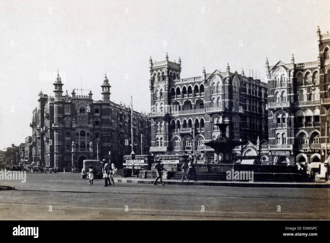 Carte postale de Heritage Hotel Majestic et Waterloo mansion Photo Stock