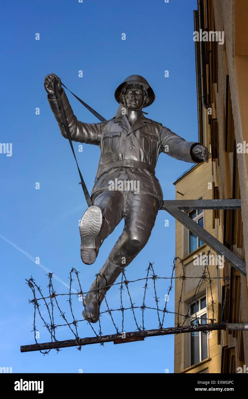 Mémorial du Mur de Berlin, Berlin, Germany, Europe Photo Stock