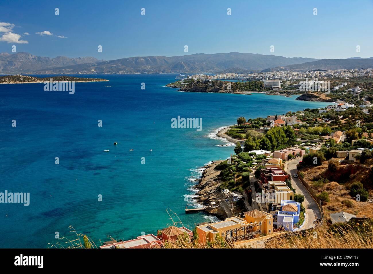 Agios Nikolaos, Crète, Grèce, Europe Banque D'Images