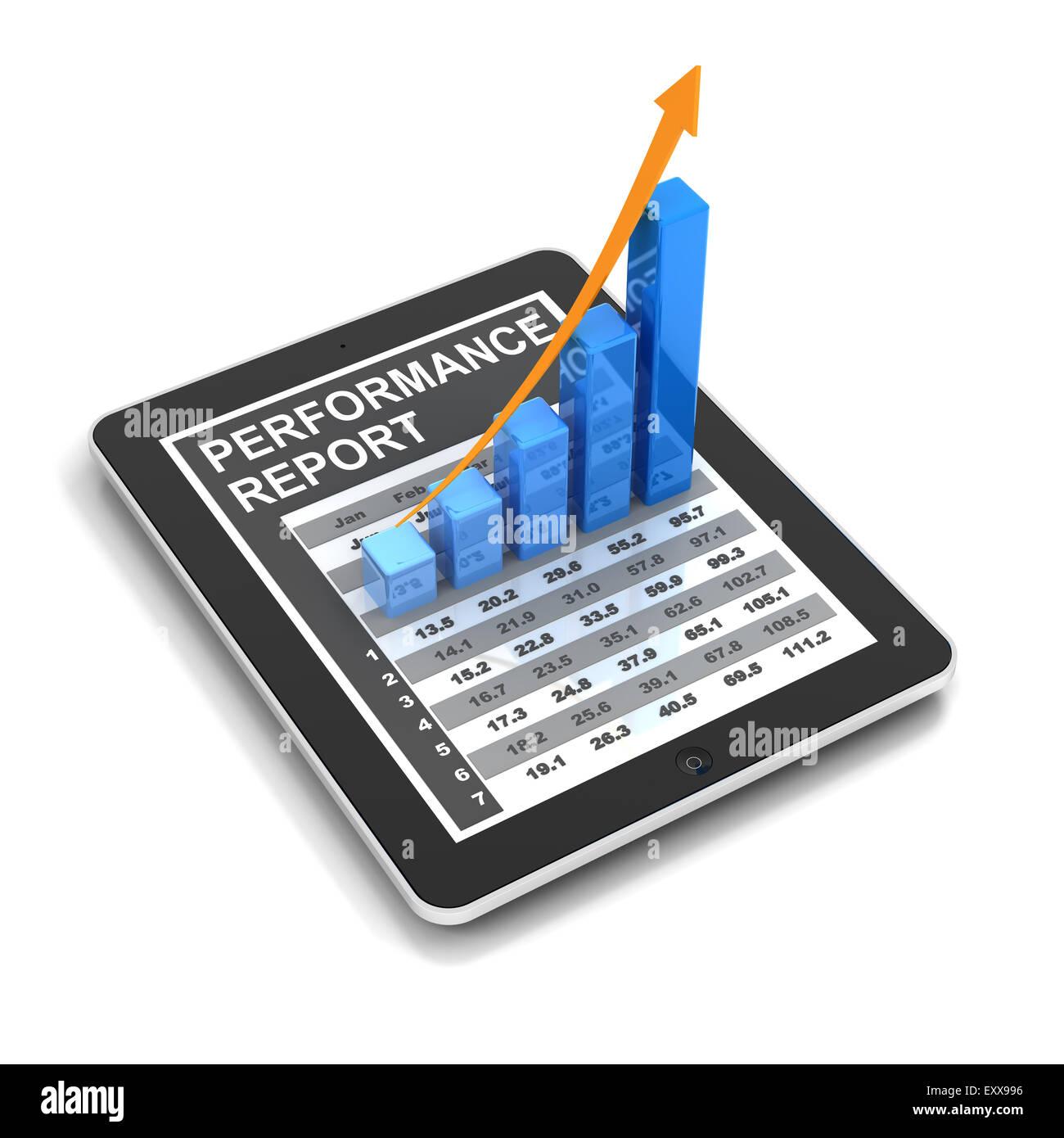 Tablette graphique numérique à la hausse Photo Stock