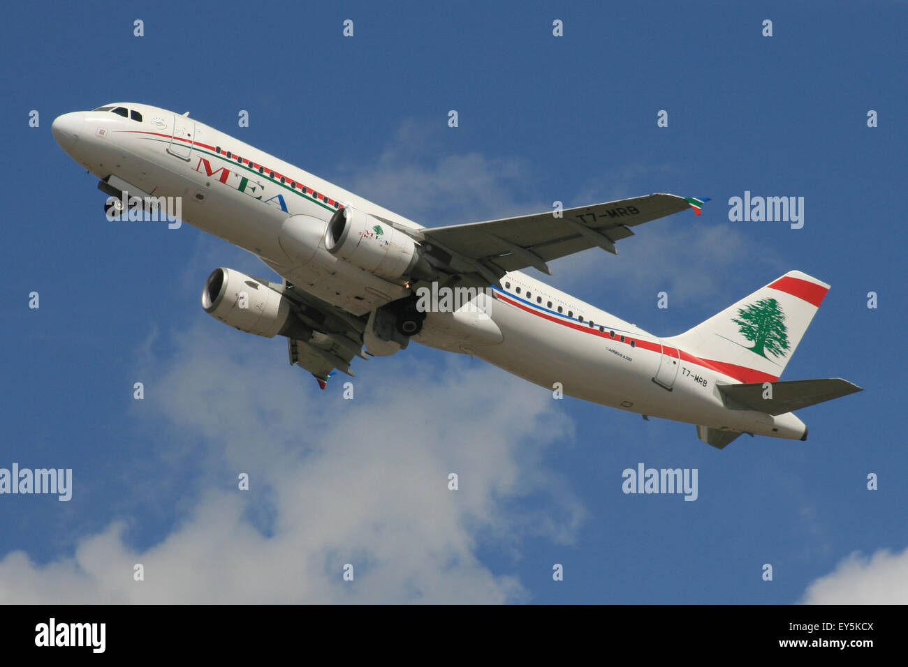A320 MEA LIBAN BEYROUTH Moyen-orient Photo Stock