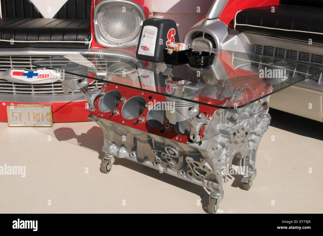 Moteur Bloc Table Petrolhead Passionné Blocs De V8 Basse Tables SzMqUVp