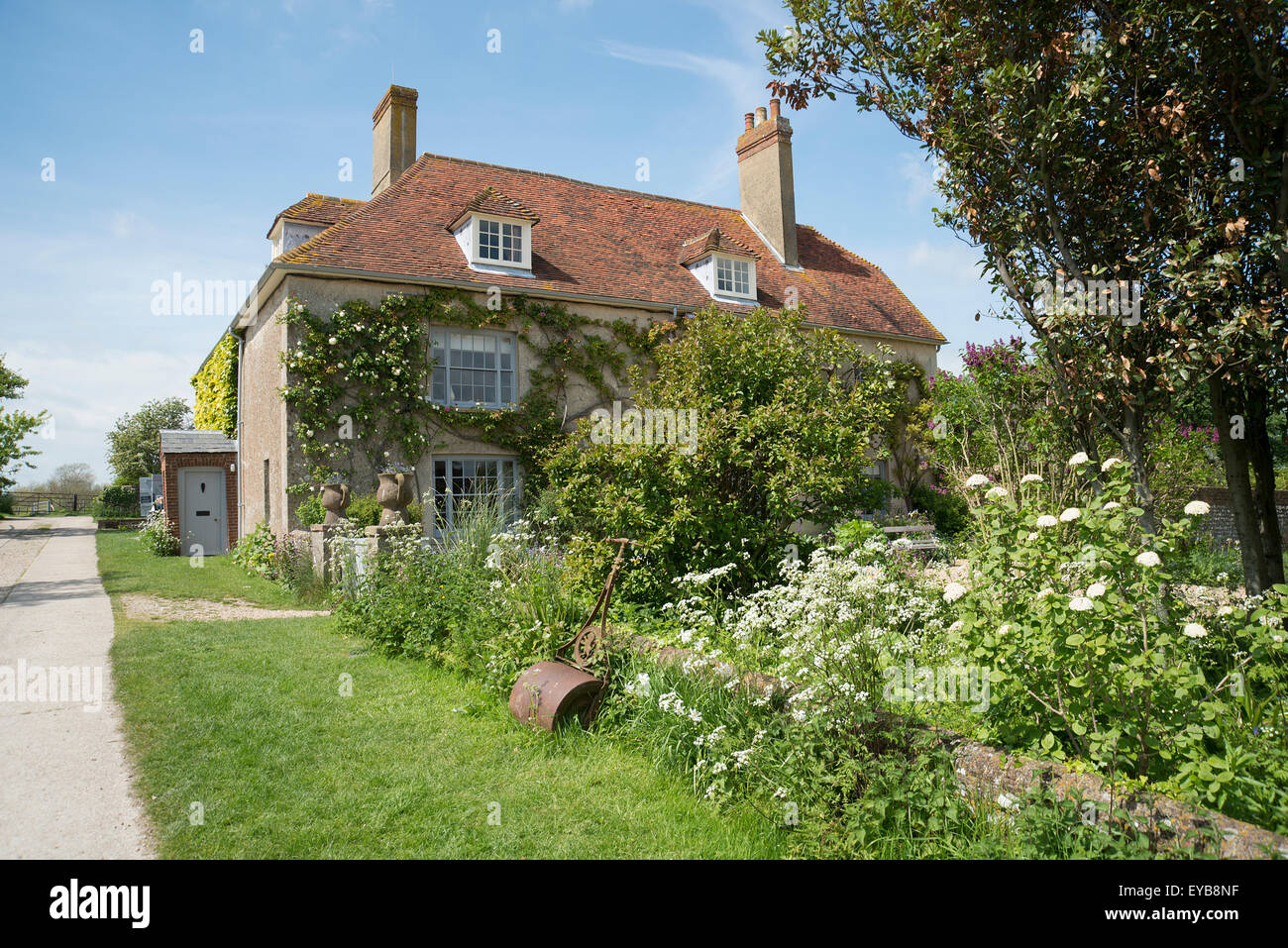 Charleston Farmhouse, East Sussex, Bloomsbury group Banque D'Images