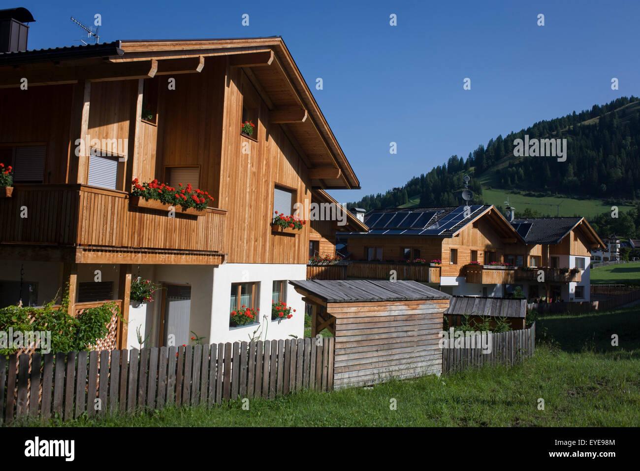 architecture moderne maison tyrolienne dans leonhard-st leonardo, un