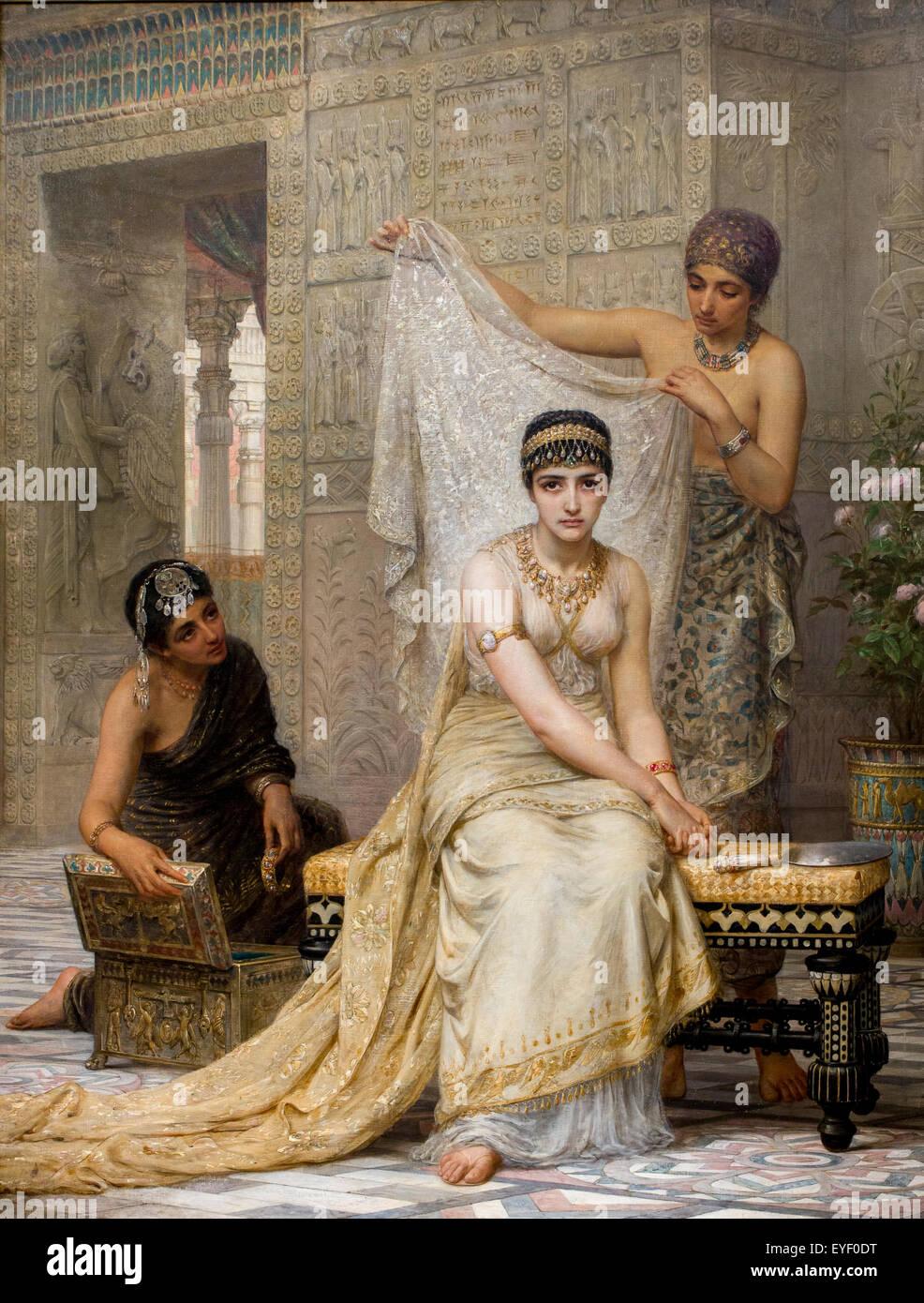 La reine Esther 08012014 19e siècle Collection Banque D