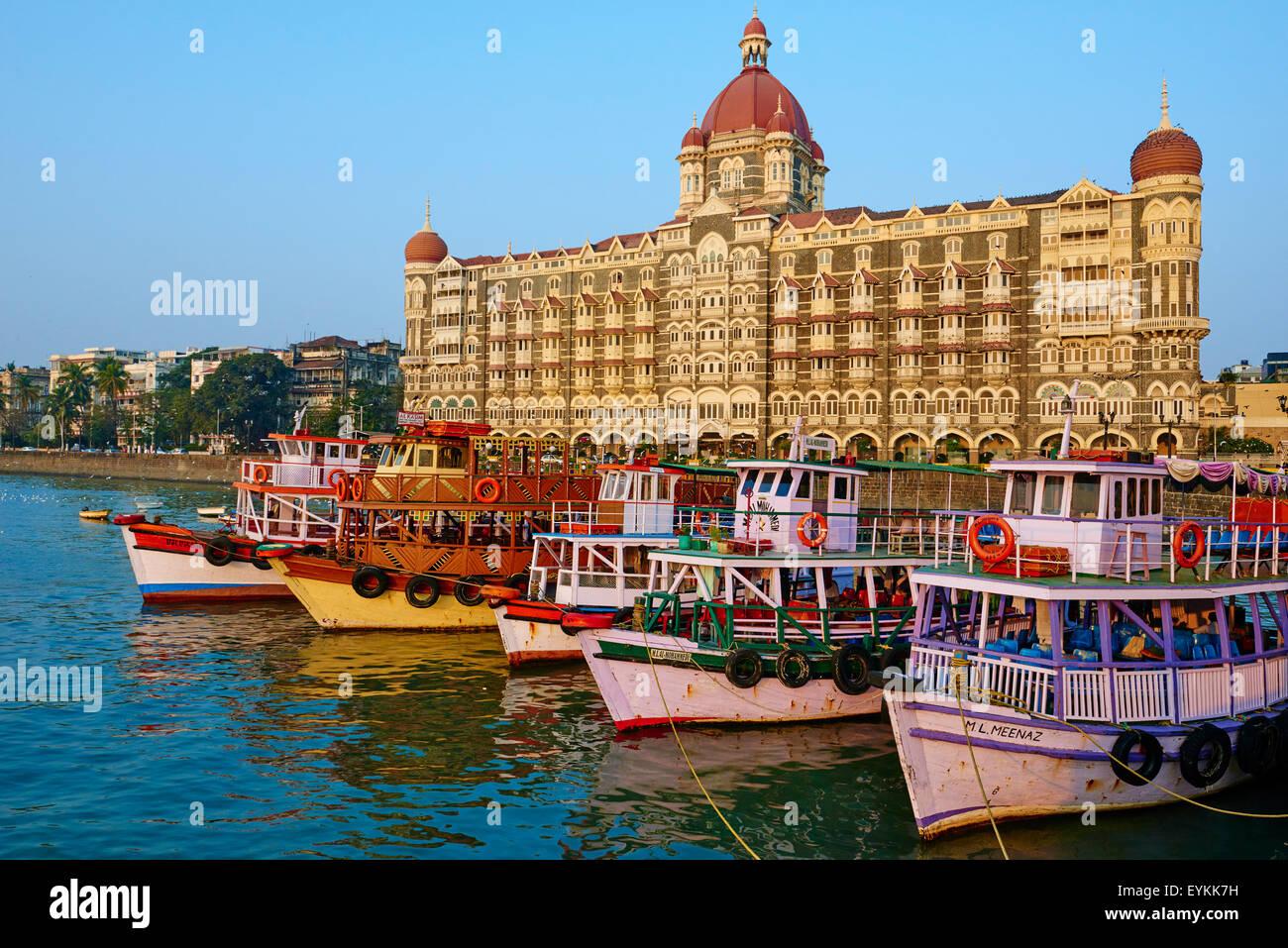 L'Inde, Maharashtra, Mumbai (Bombay), l'hôtel Taj Mahal Palace Photo Stock