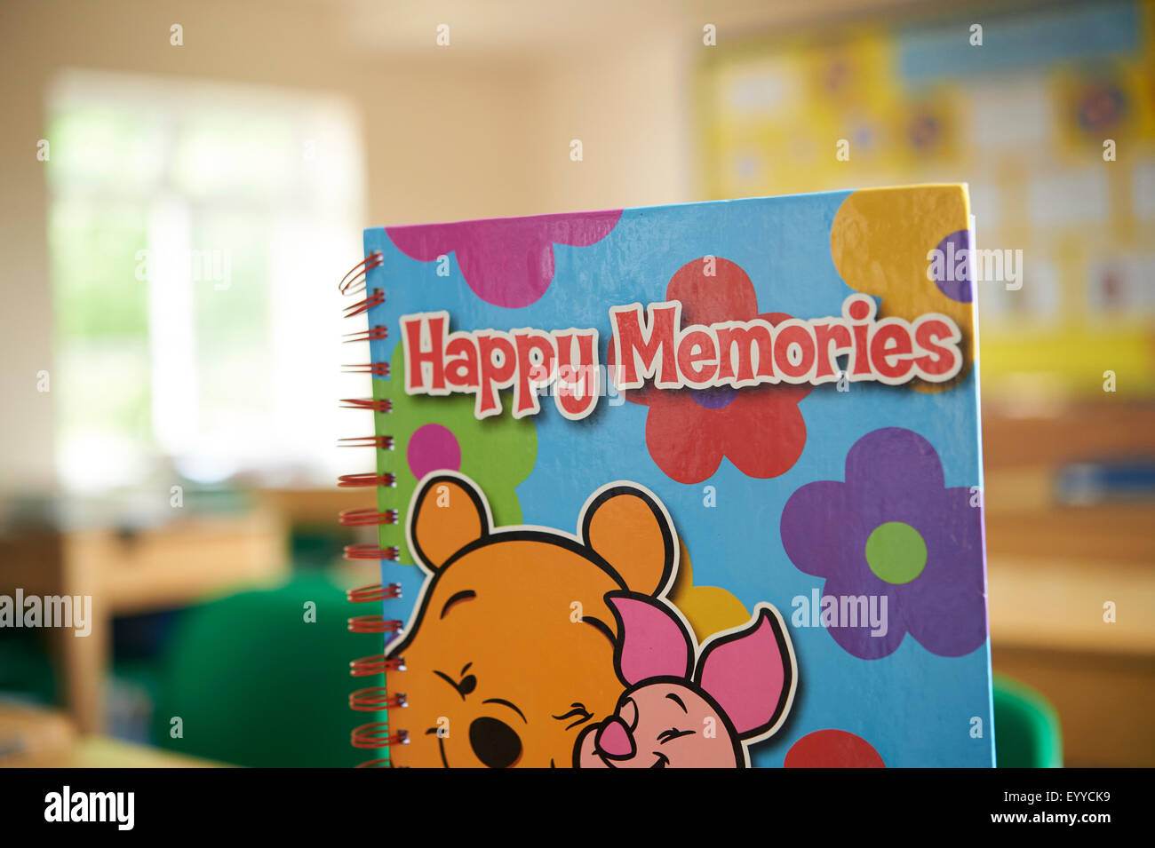 Storybook in classroom Photo Stock