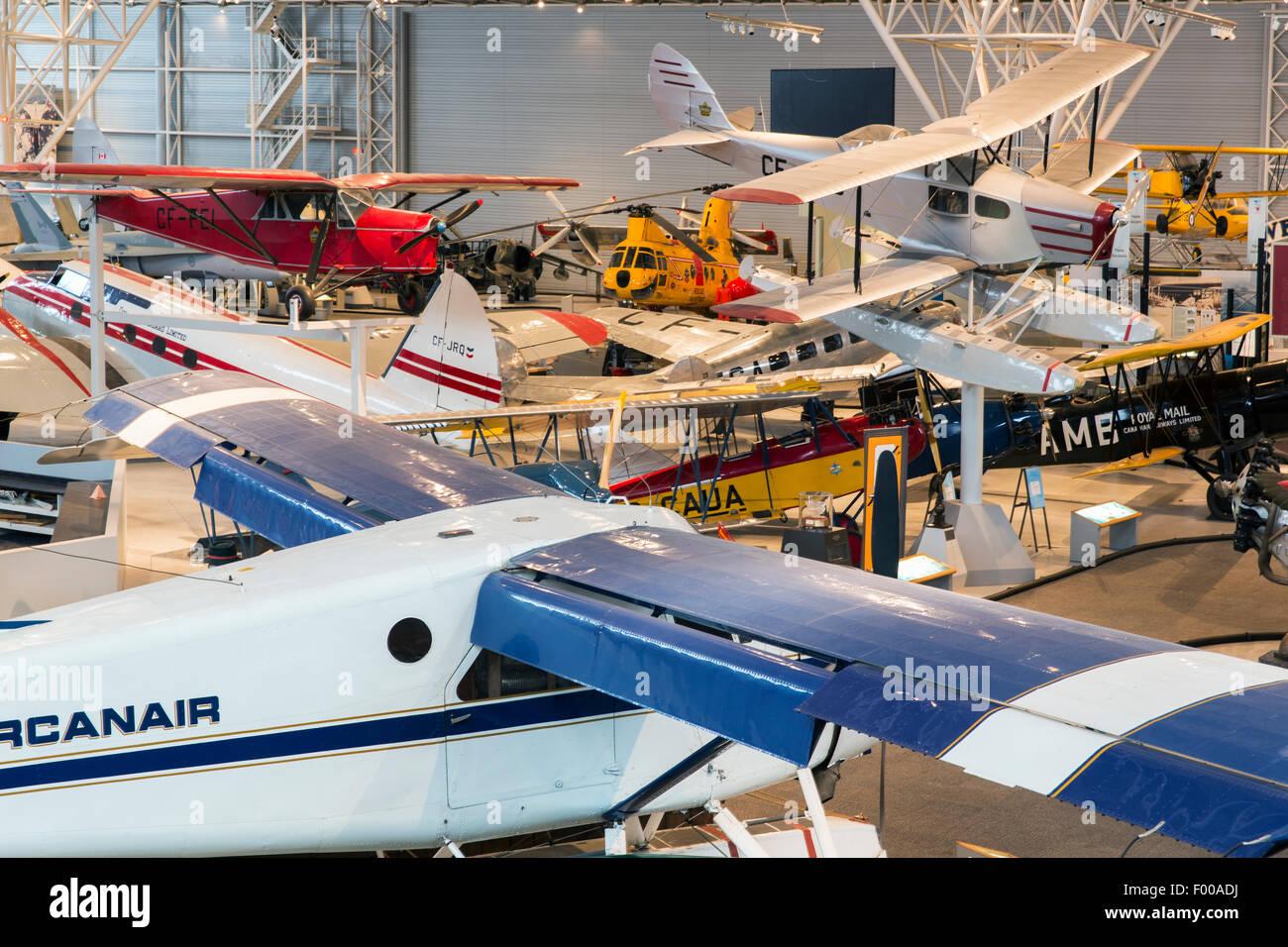 Canada,Ontario,Ottawa, Canada Aviation & Space Museum Photo Stock