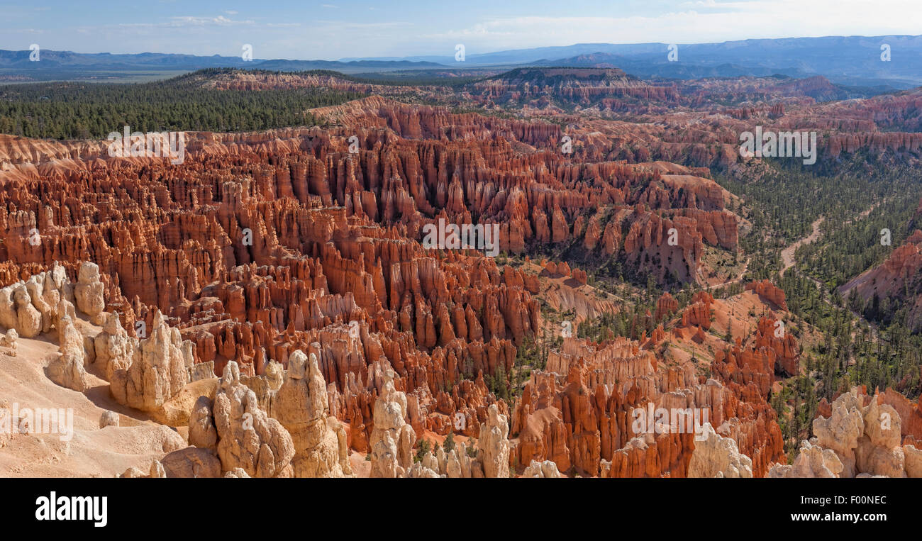 Une autre photo du Parc National de Bryce Canyon - Utah Photo Stock