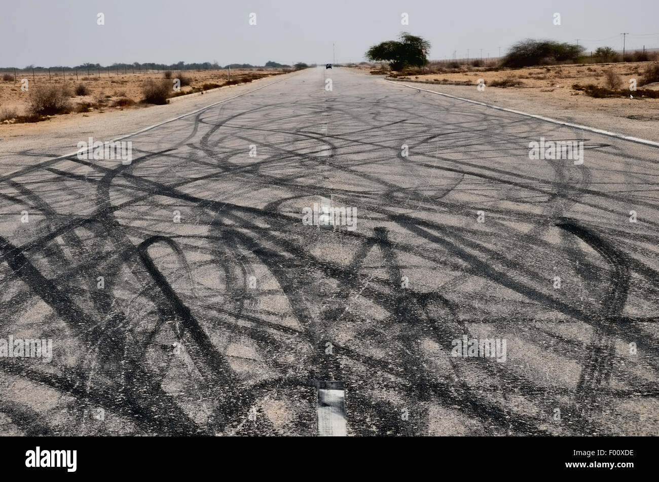 Road Art Photo Stock