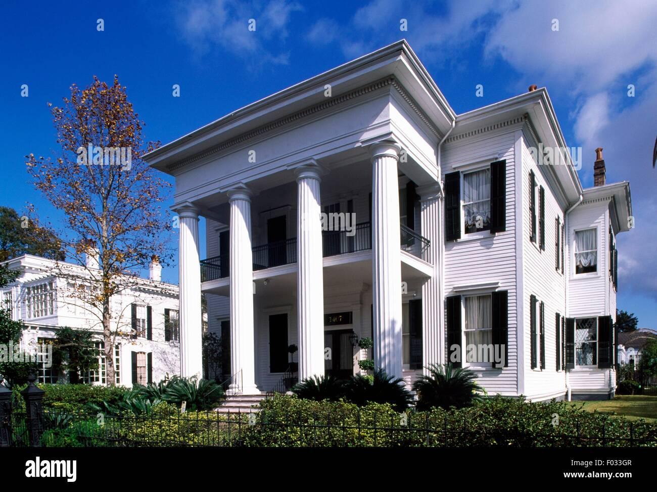 Maison de style colonial dans le Garden District de La ...
