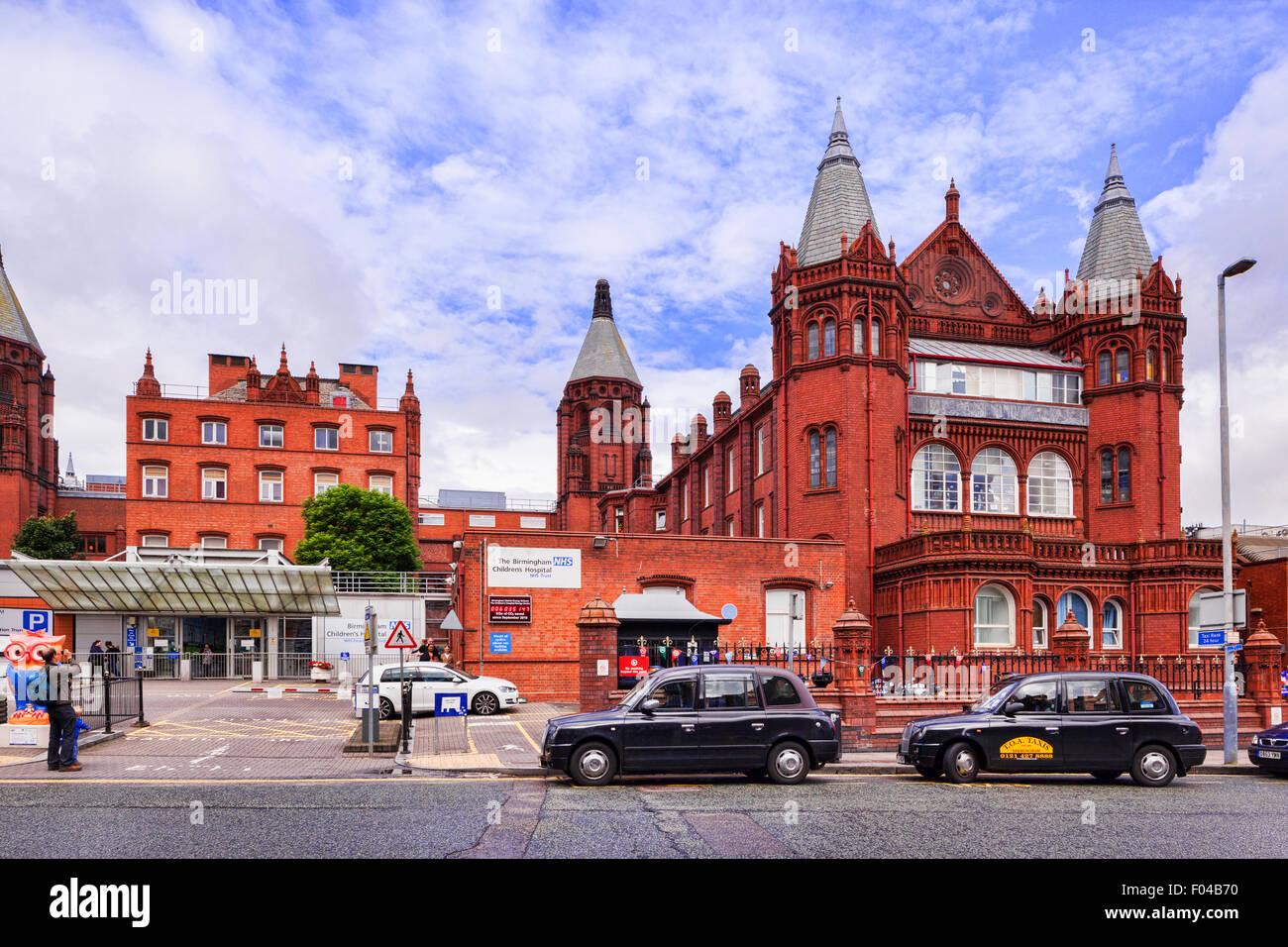 Hôpital pour enfants de Birmingham, Birmingham, West Midlands, England Photo Stock