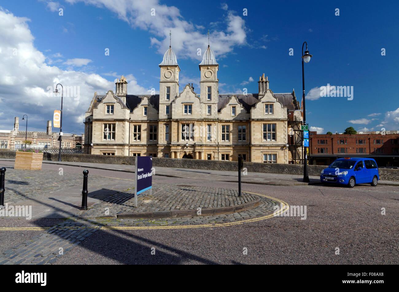 De style jacobéen siège du Bristol et Exeter Railway Company conçu par L.C. Fripp 1852-1854, Temple Photo Stock