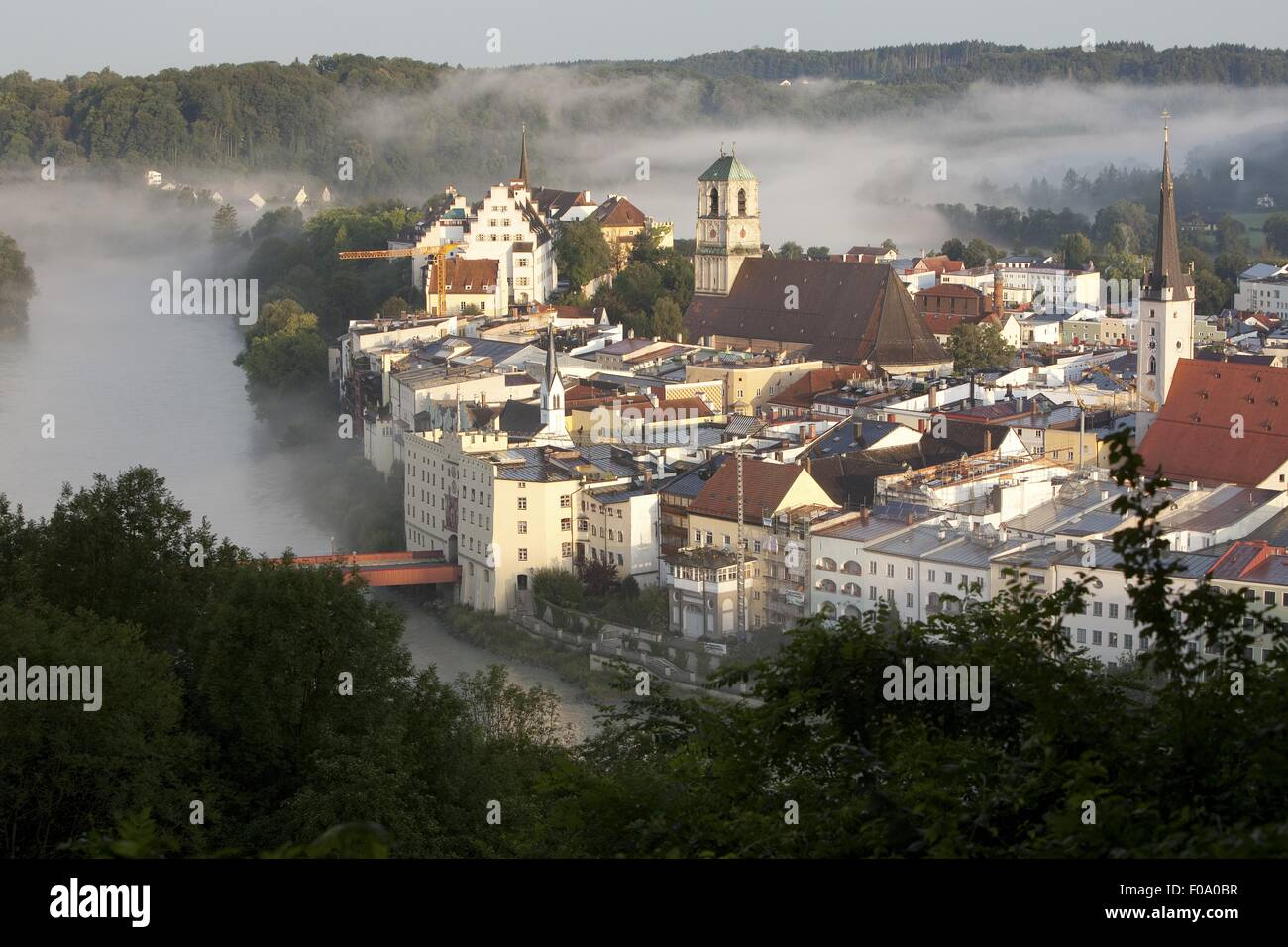 Wasserburg Am Inn Germania wasserburg germany photos & wasserburg germany images - alamy