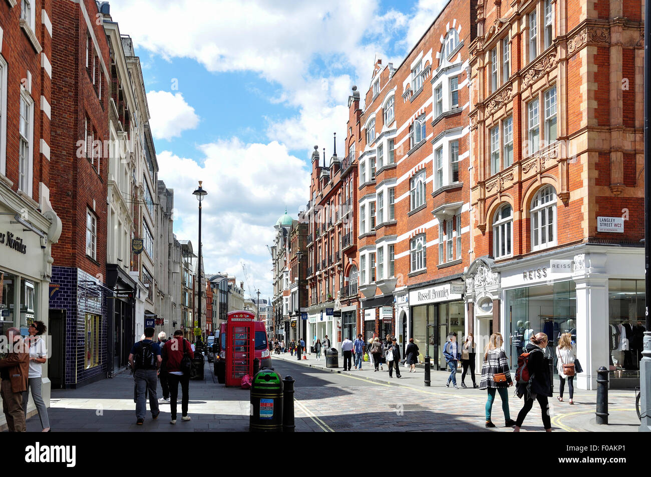 Long Acre, Covent Garden, City of Westminster, London, England, United Kingdom Photo Stock