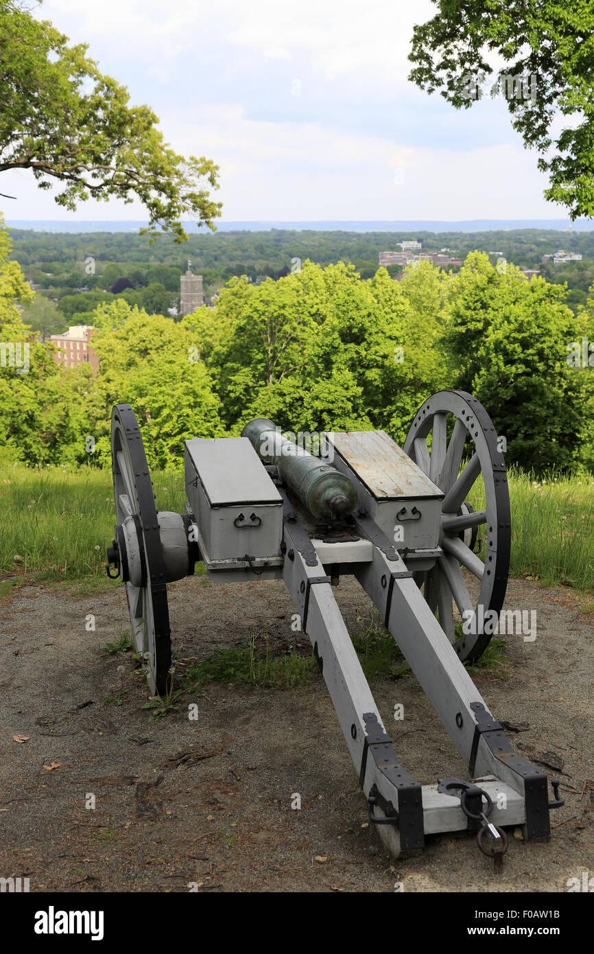 Le parc historique du Fort absurde Morristown New Jersey USA Photo Stock