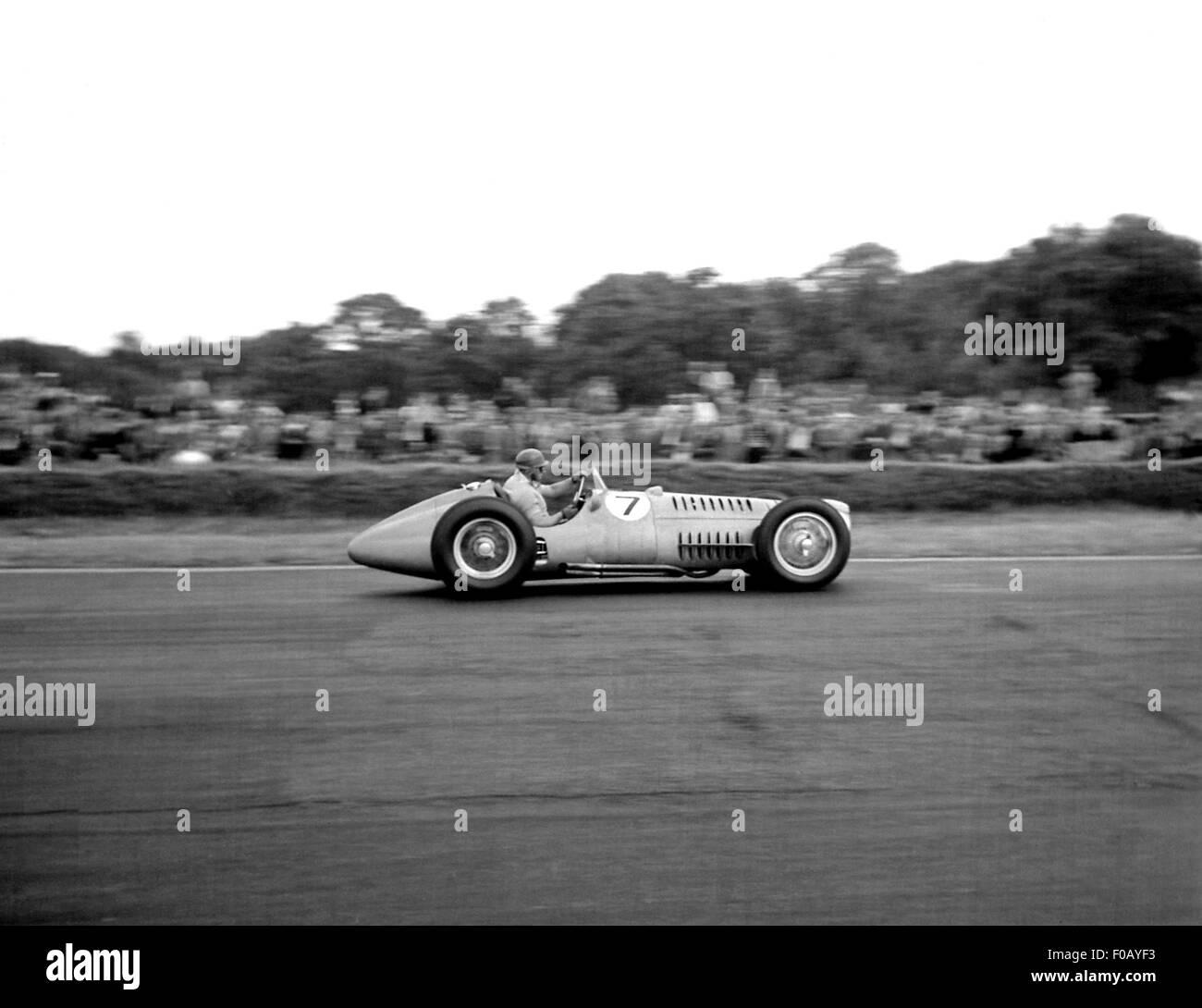 La course de Formule Libre à Silverstone 1952 Photo Stock