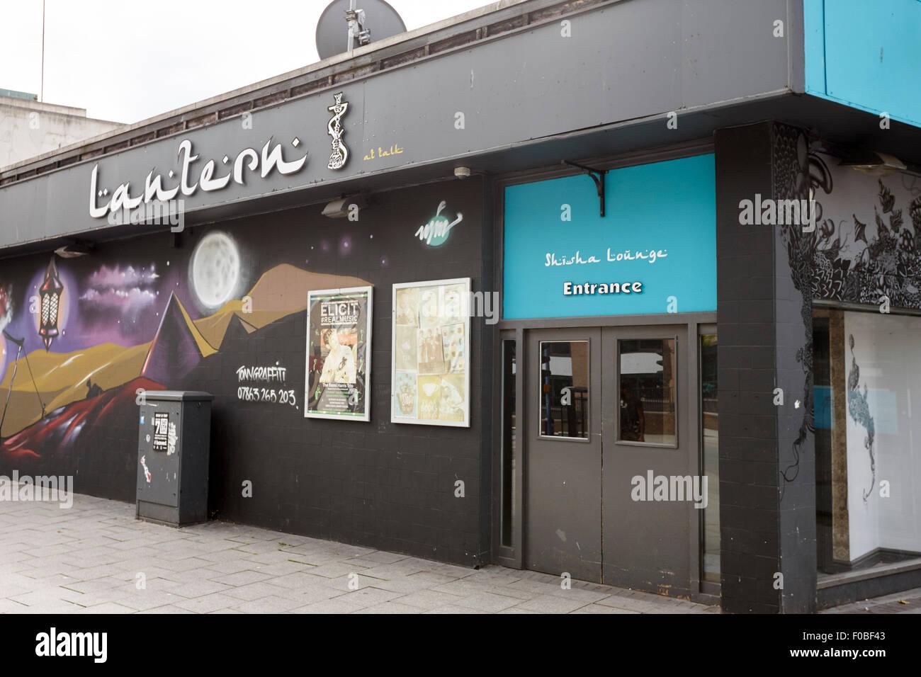 Lantern lounge cafe bar Birmingham UK Photo Stock