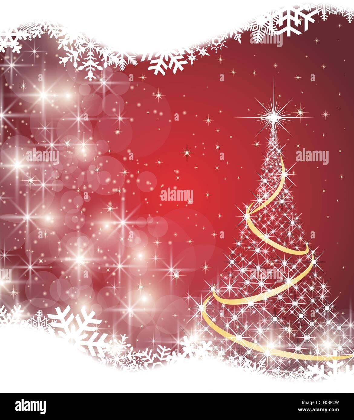 Noël arrière-plan Photo Stock