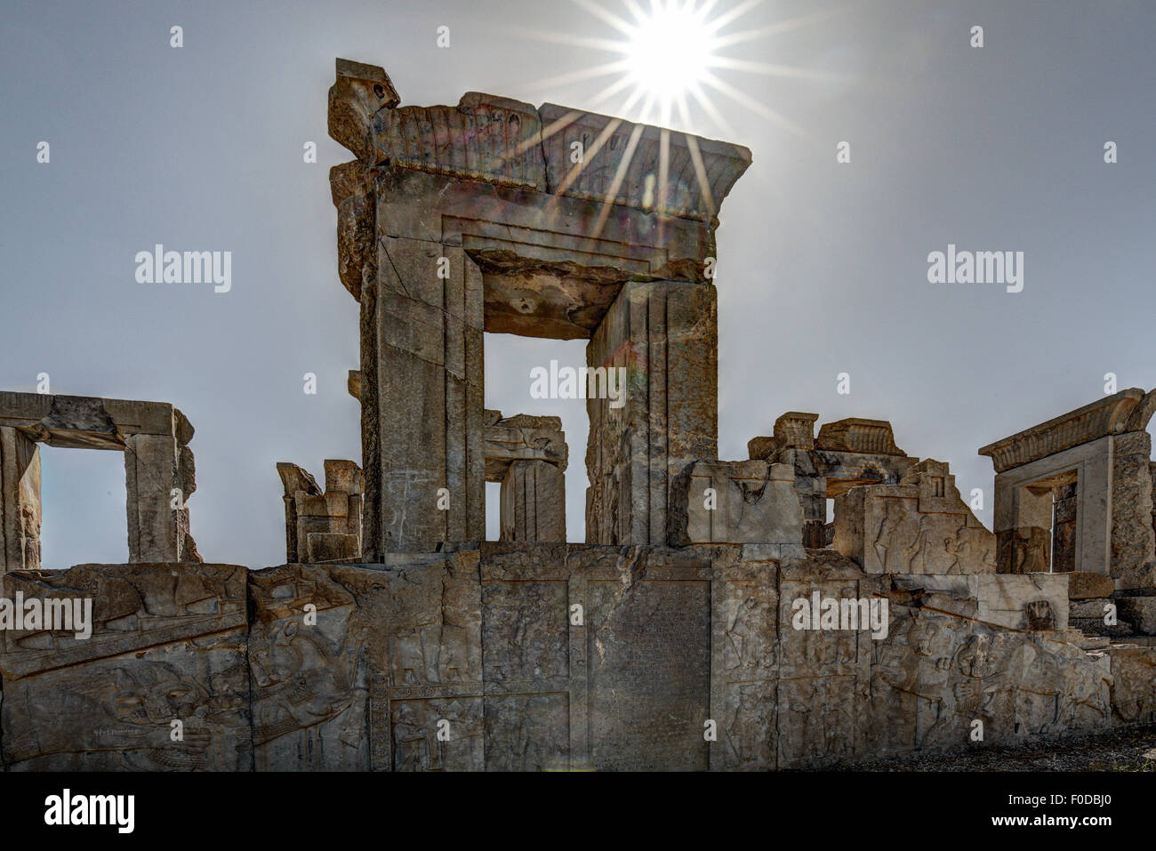 Ruines de Persepolis, Iran Photo Stock