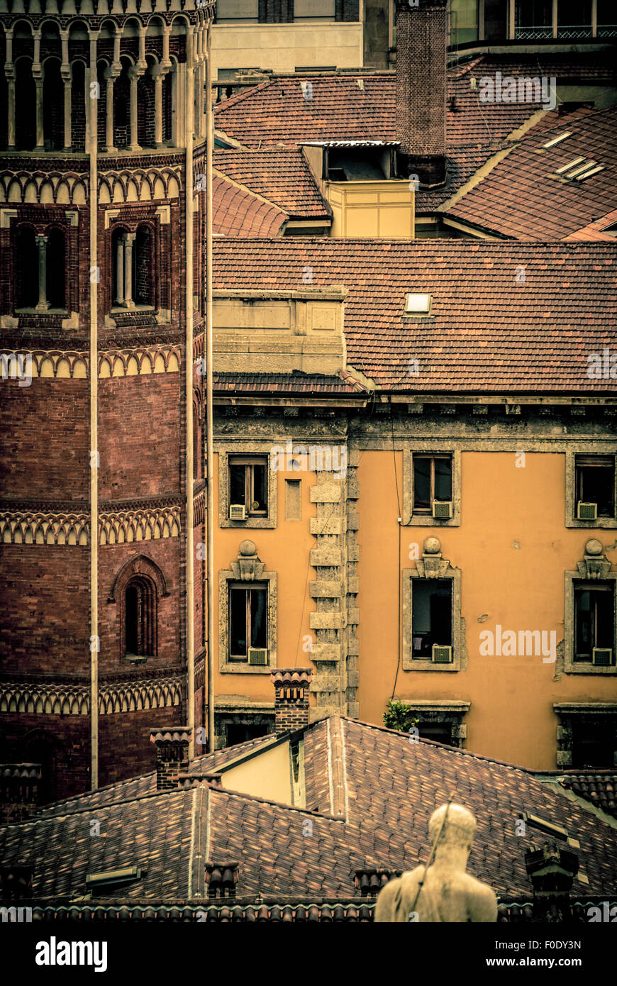 L'architecture traditionnelle Italienne Photo Stock