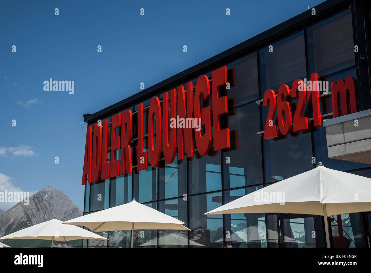 Adler Lounge, Parc National du Haut Tauern, le Tyrol de Kals, Tyrol, Autriche Photo Stock