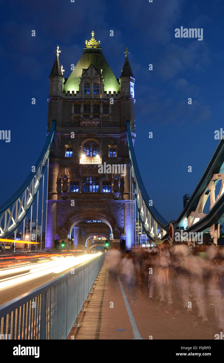 Tower Bridge, Londres, Royaume Uni, Grande Bretagne Banque D'Images