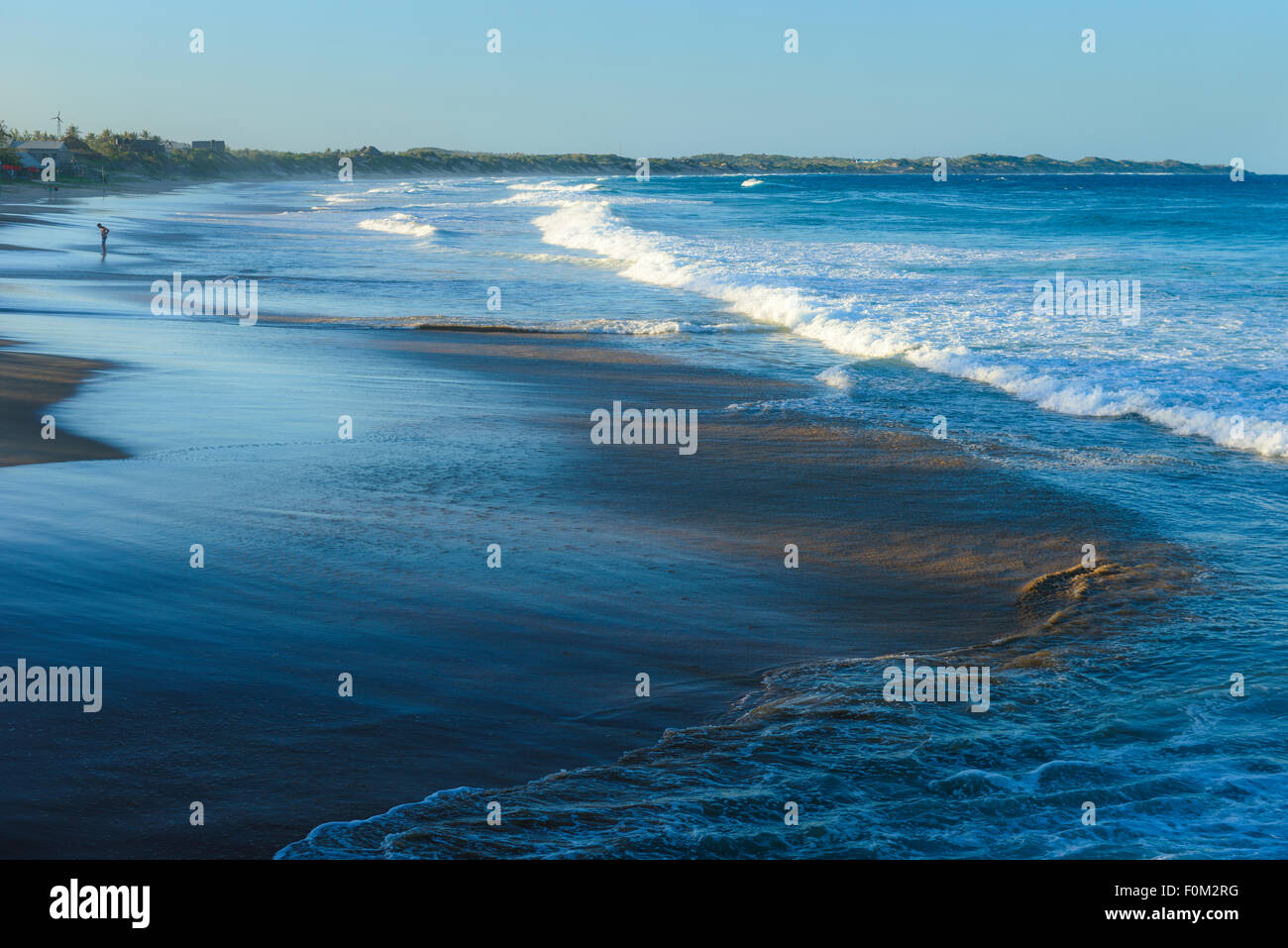 Tofo Beach, le Mozambique, l'Afrique Photo Stock
