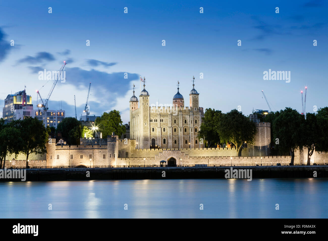 La Tour de Londres, Londres, Angleterre Photo Stock