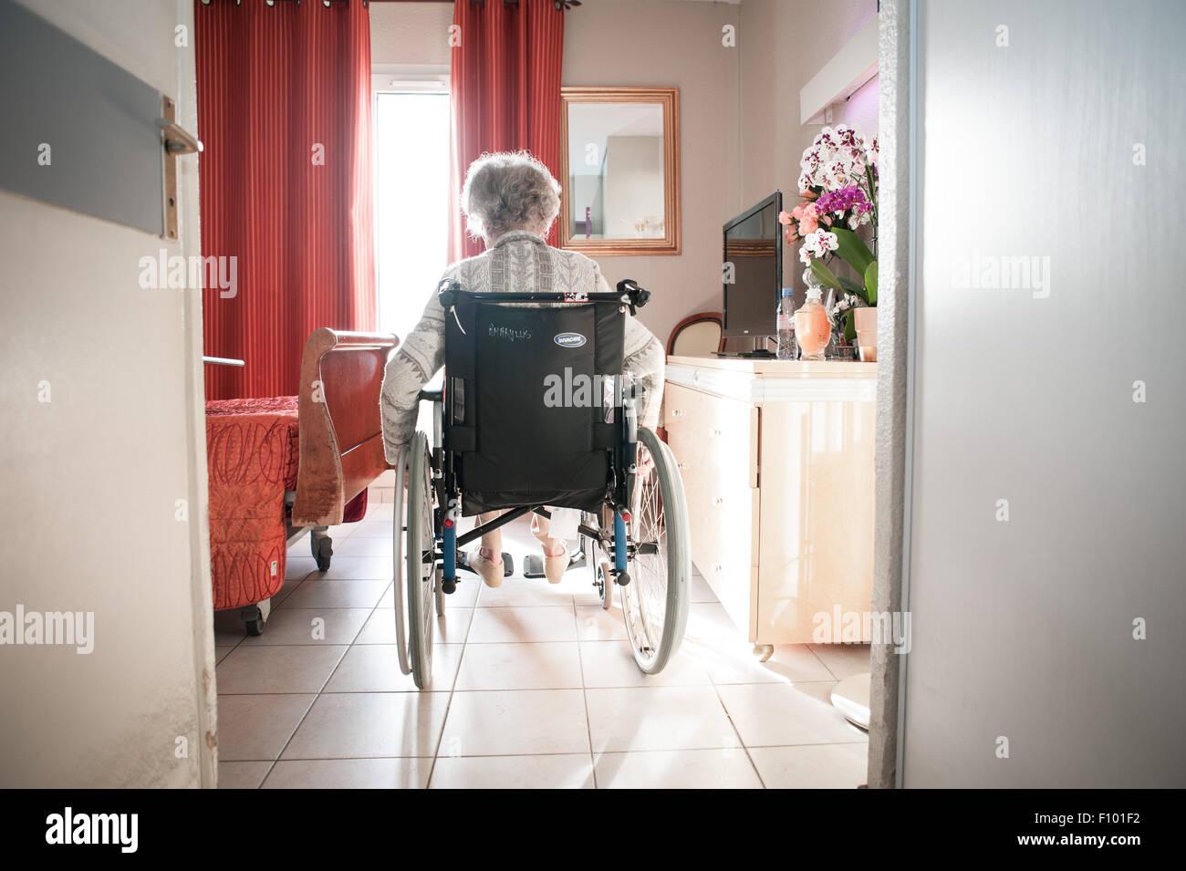 Foyer pour personnes âgées Photo Stock