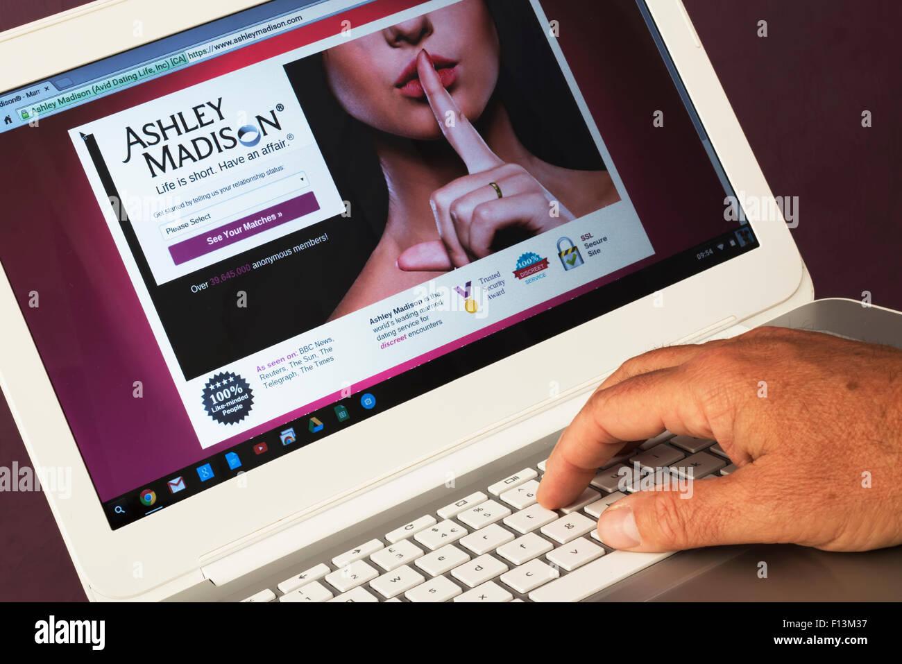 Ashley Madison site de rencontre au Royaume-Uni