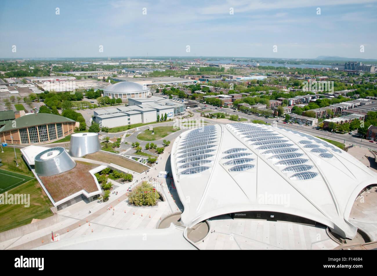 L'écosystème tropical - Montréal - Canada Photo Stock