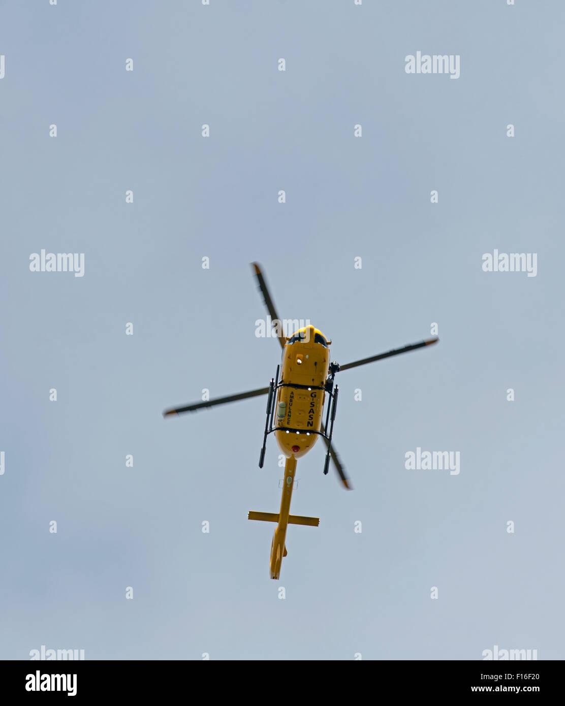 Airbus Helicopters EC145 T2 Eurocopter EC145 T2 (G-SASN) à l'aérodrome d'Inverness. SCO (10 063. Photo Stock