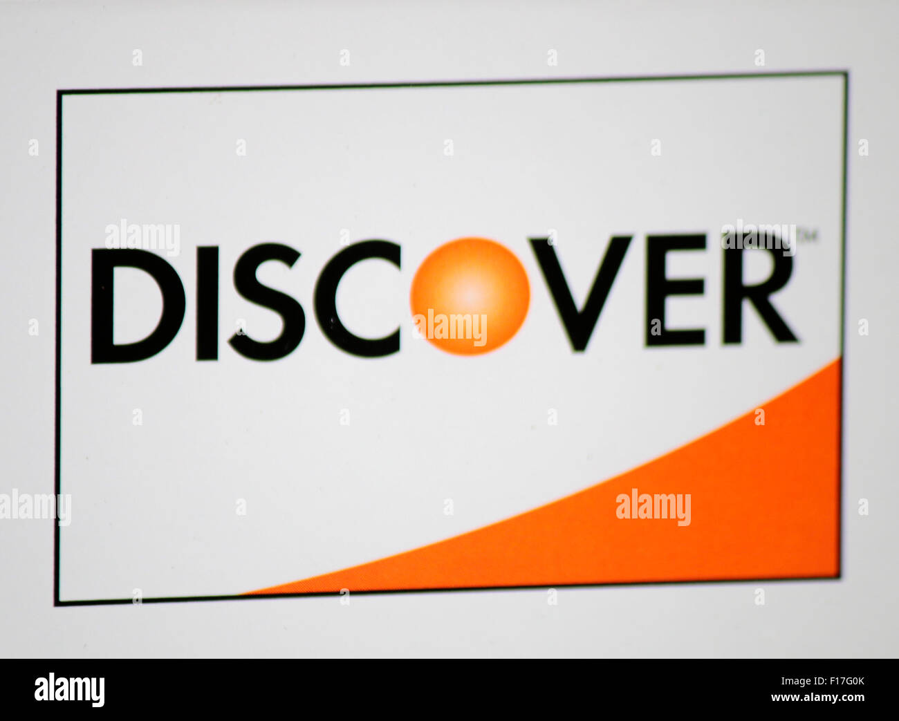 Markennamen: 'Discover', Berlin. Photo Stock