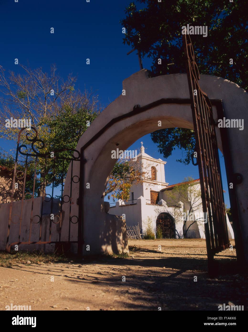 Alamo Village Banque D'Images