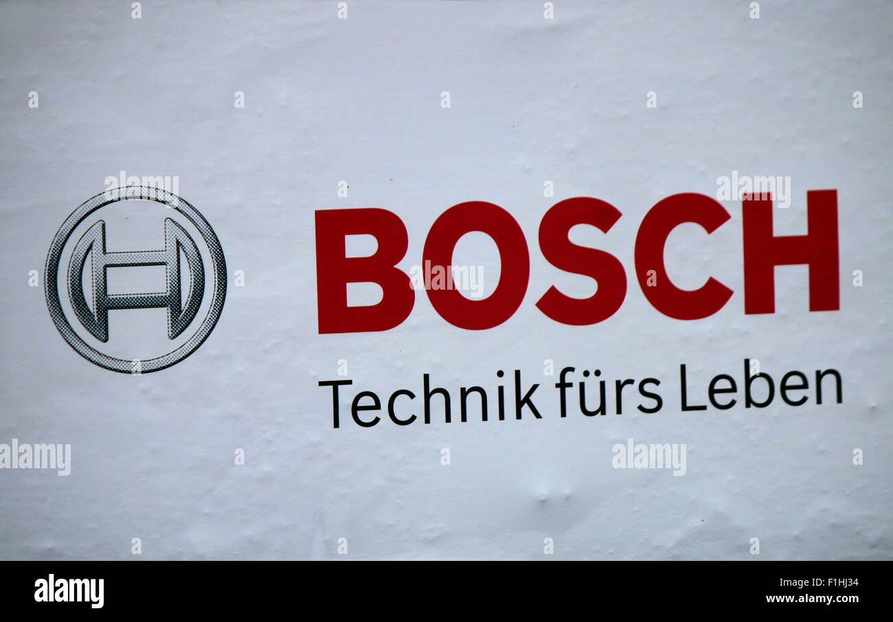 Markennamen : 'BOSCH', Berlin. Photo Stock