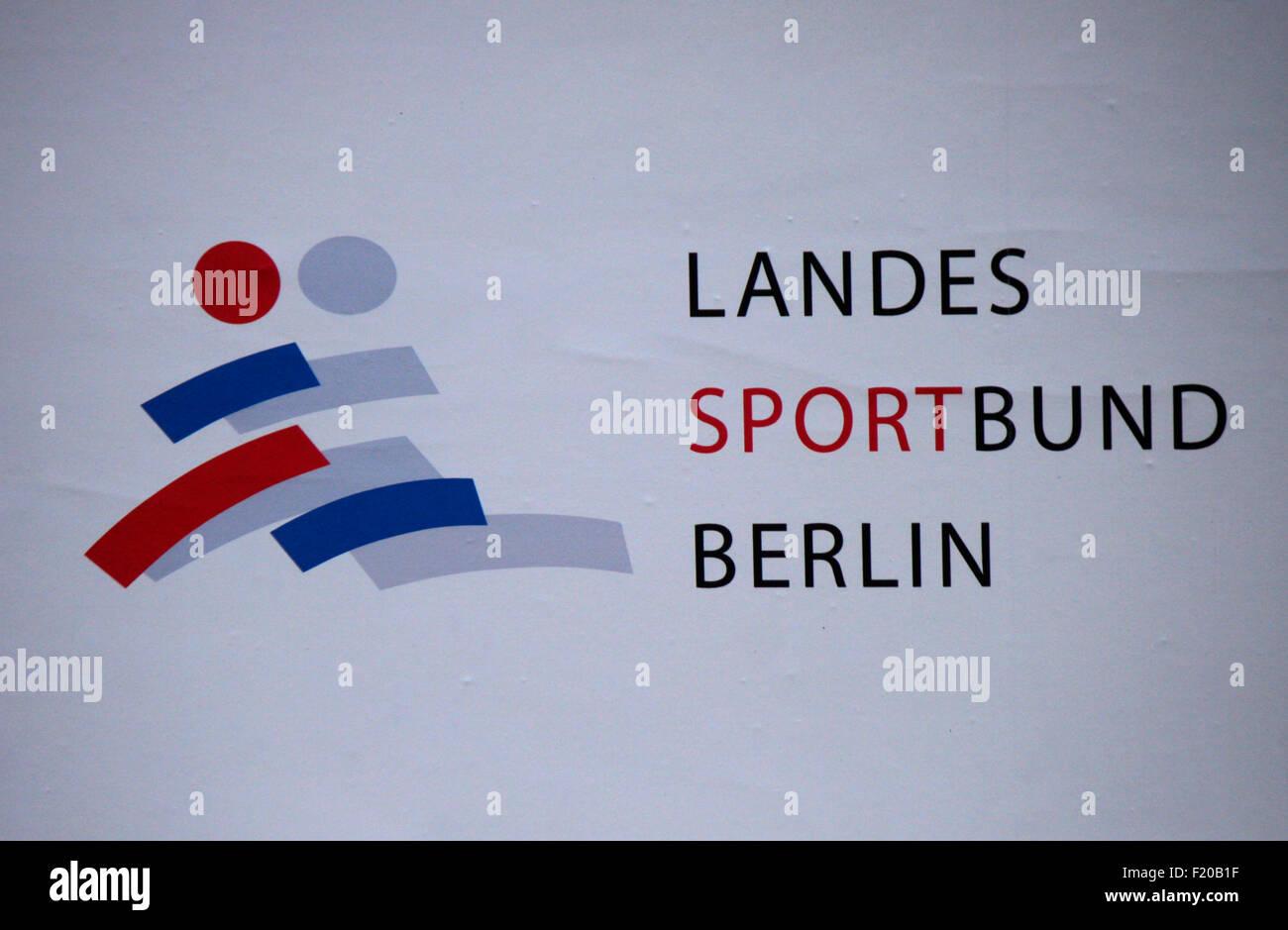 Landes Sportbund Markenname: 'Berlin', Berlin. Photo Stock