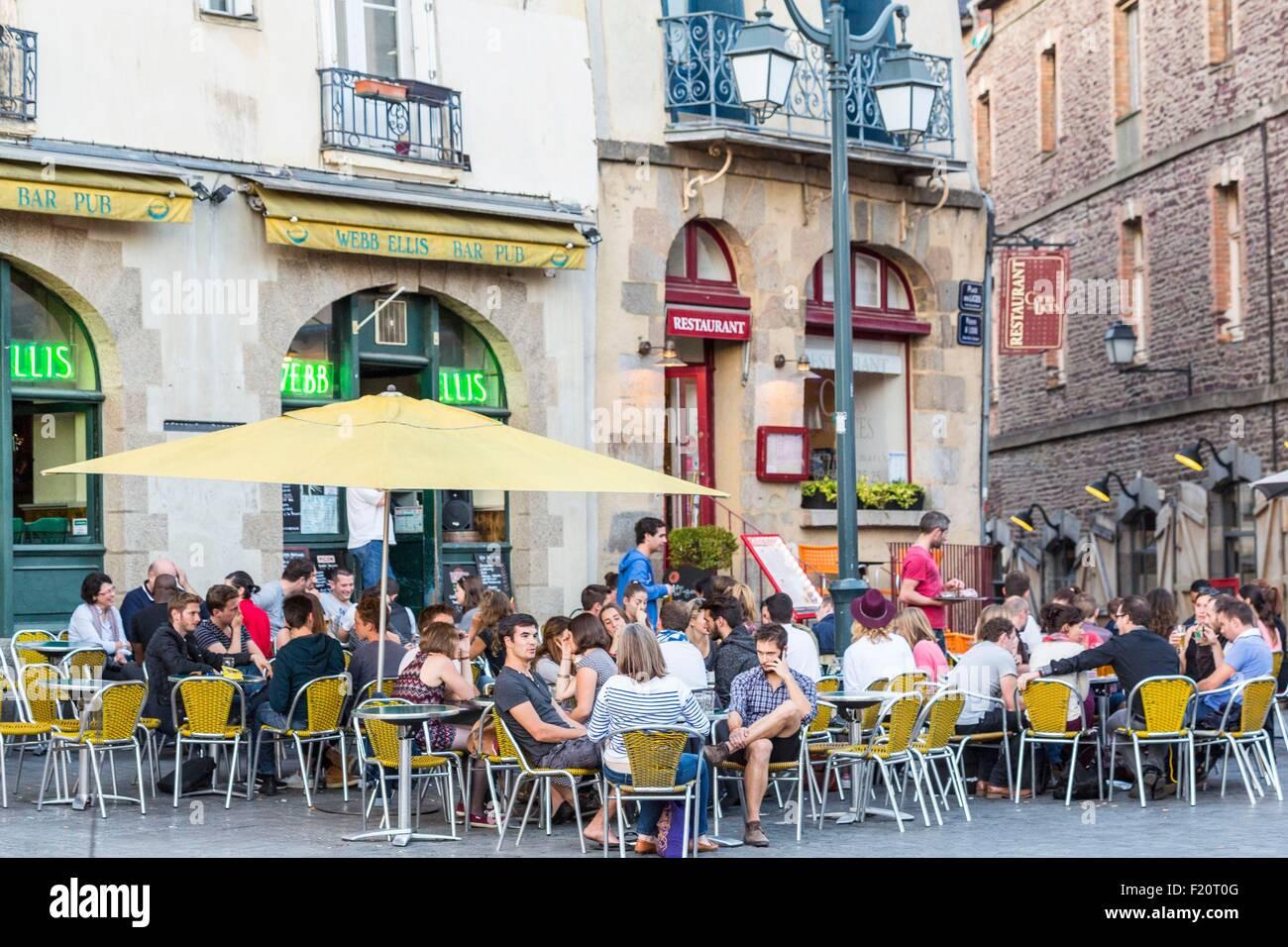 La France De L Ille Et Vilaine Rennes Place Des Lices