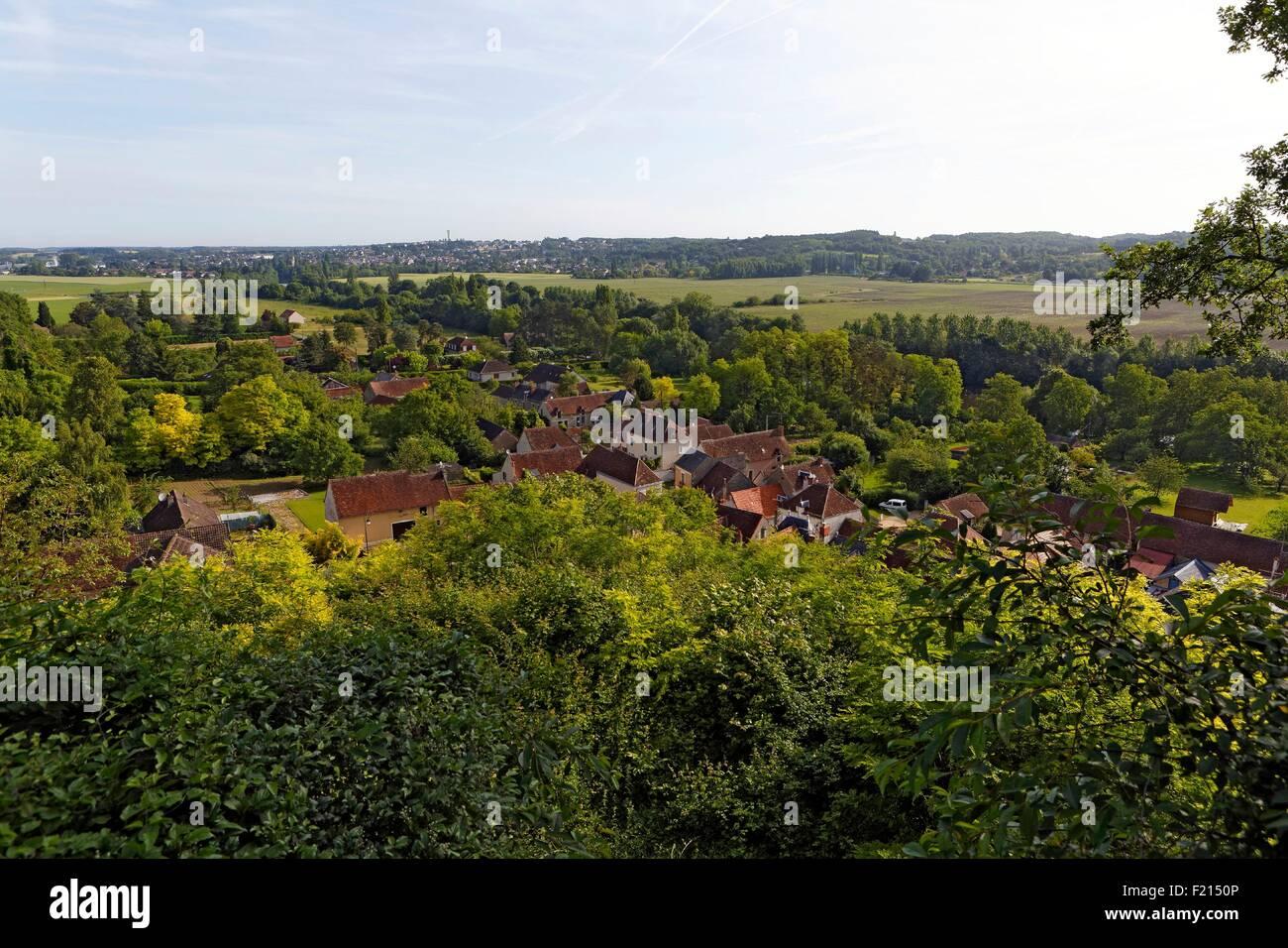 France, Vienne, Saint Remy sur Creuse, sommaire Photo Stock