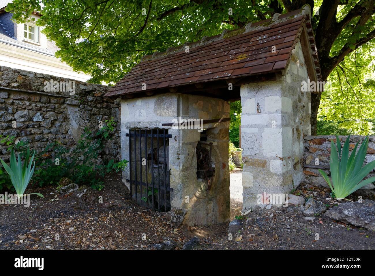 France, Vienne, Saint Remy sur Creuse, bien Photo Stock