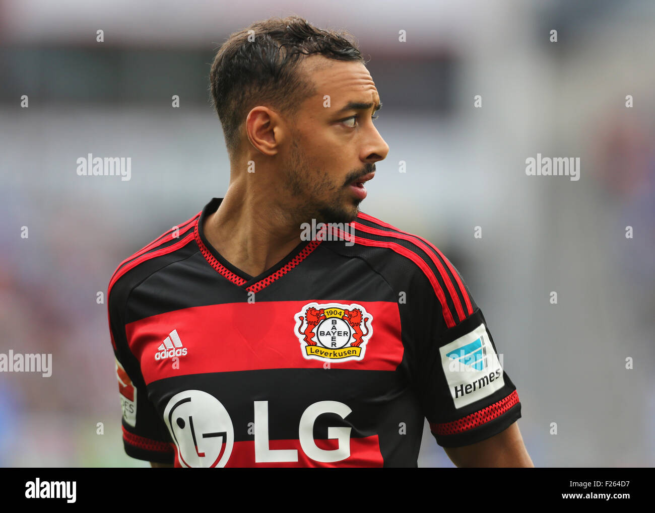 Leverkusen, Allemagne, le 12 septembre 2015, sport, football, Bundesliga, Bayer 04 Leverkusen vs Darmstadt 98: Photo Stock
