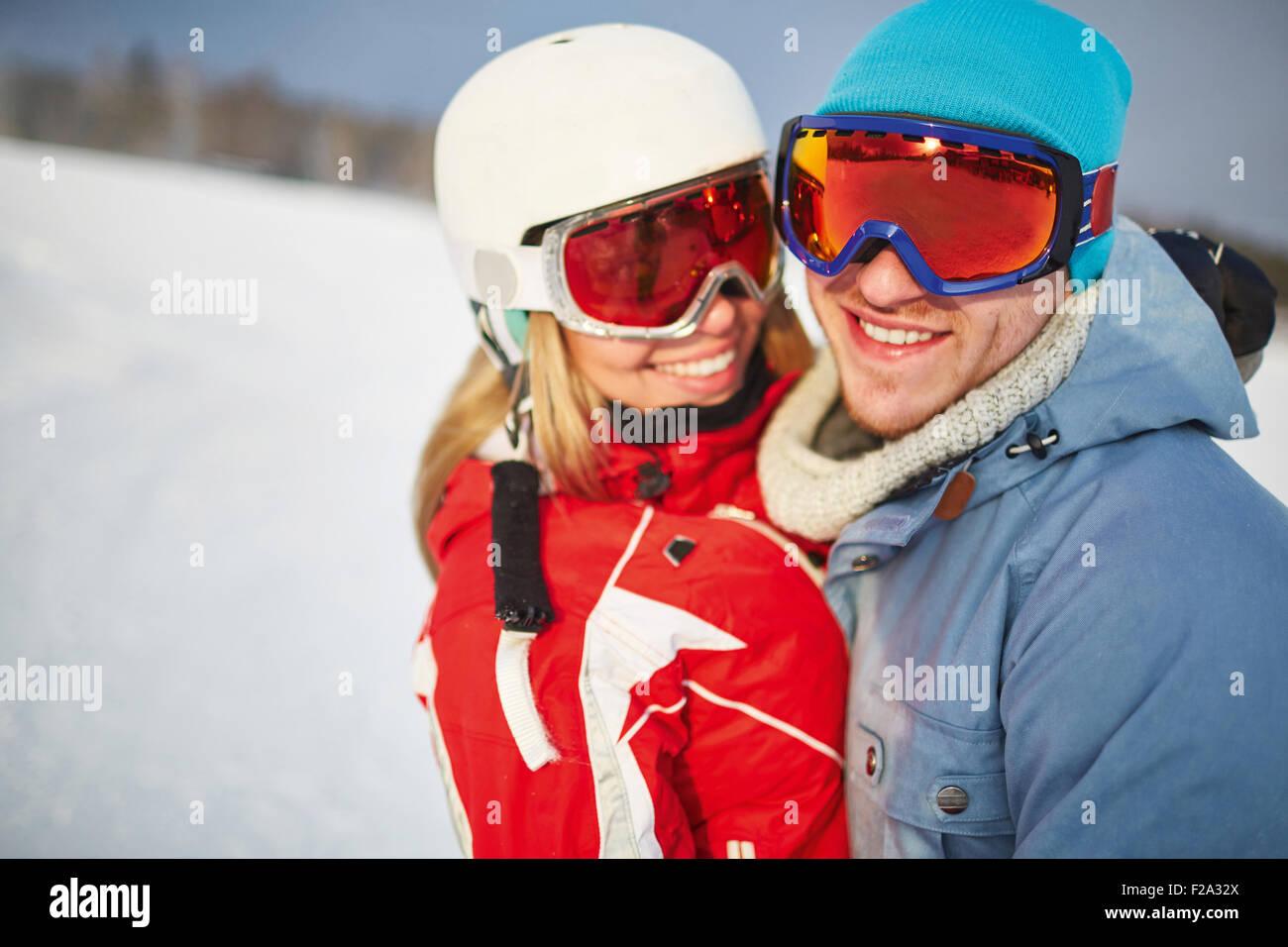 Jeune couple Photo Stock