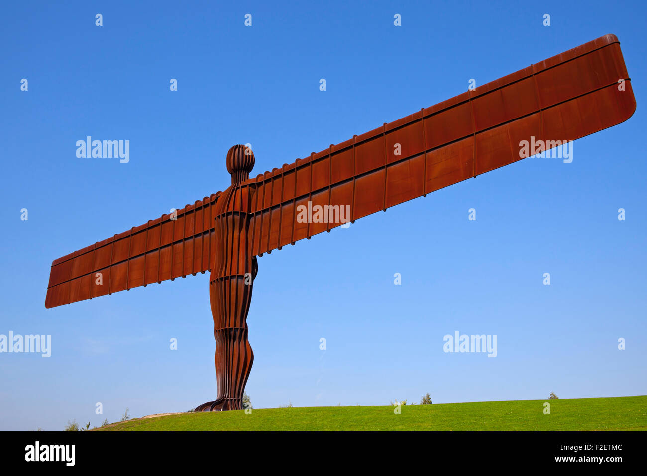 Statue Angel of the North, Gateshead Newcastle, UK Europe Photo Stock