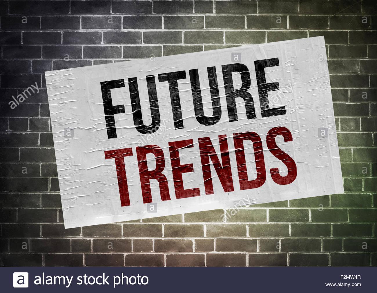 Tendances futures Photo Stock