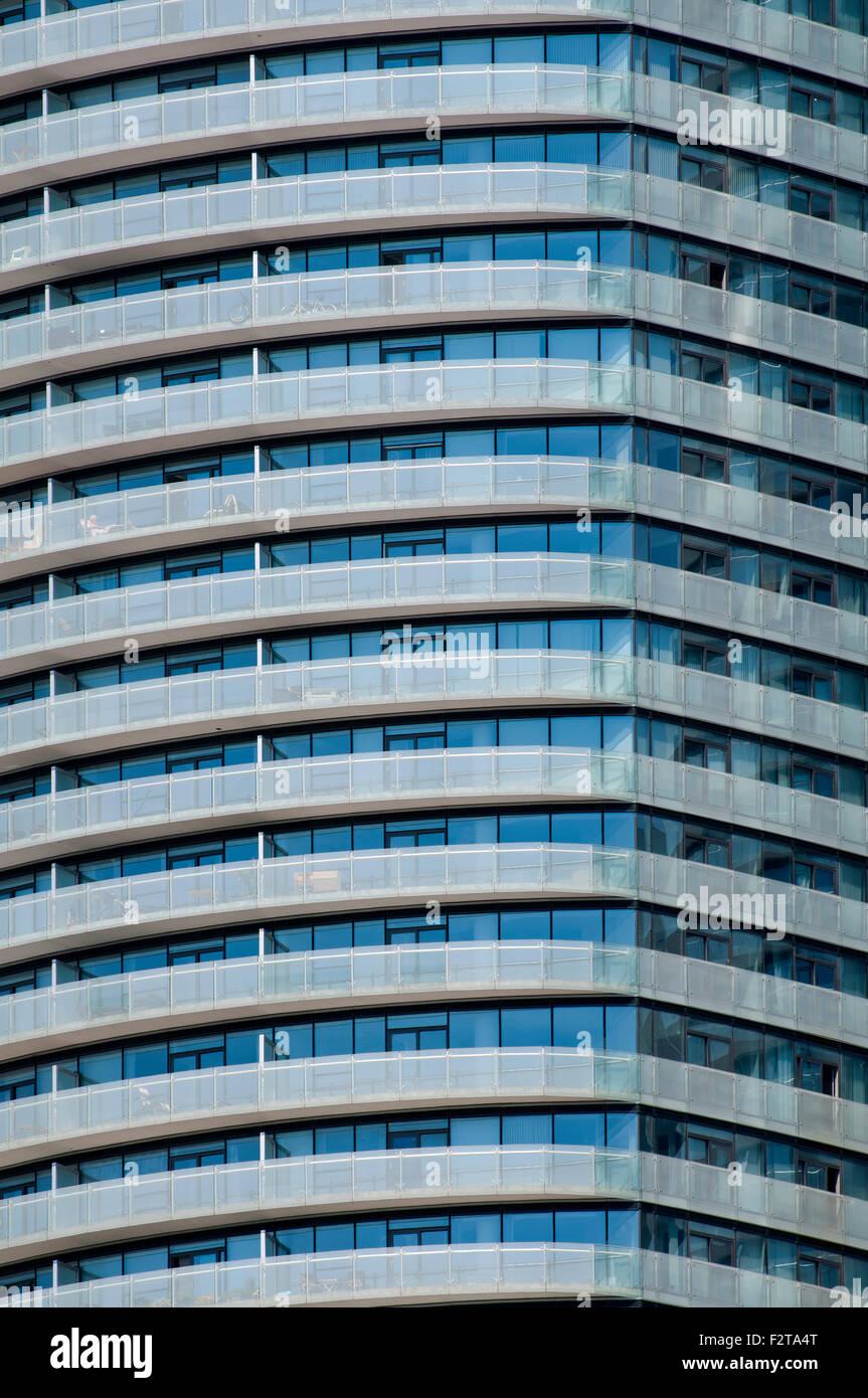 Immeuble libre Photo Stock