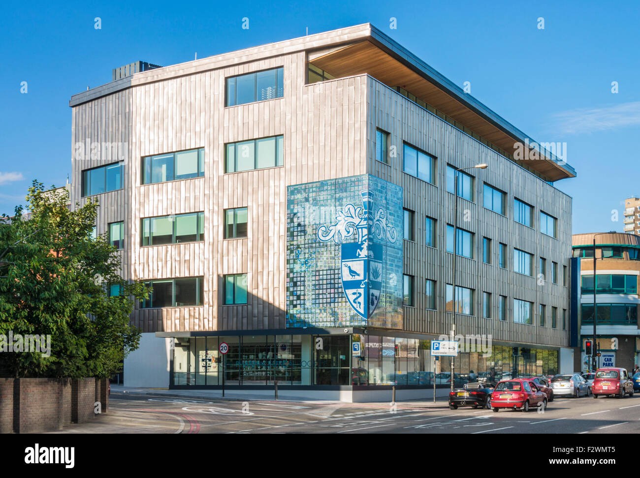 La Royal Pharmaceutical Society of Great Britain est siège de Smithfield London UK GB EU Europe Photo Stock