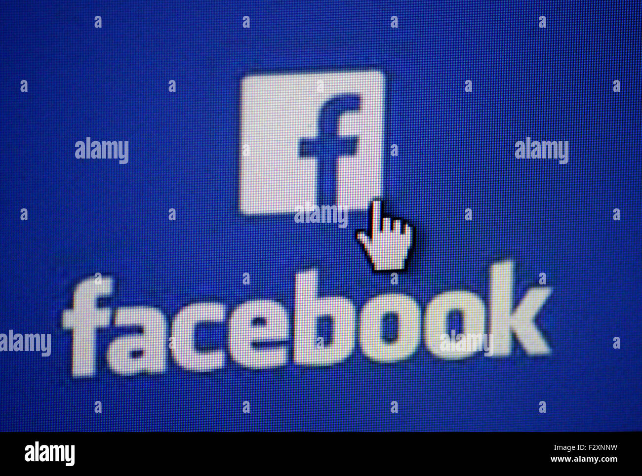 Markenname: 'Facebook', Berlin. Photo Stock