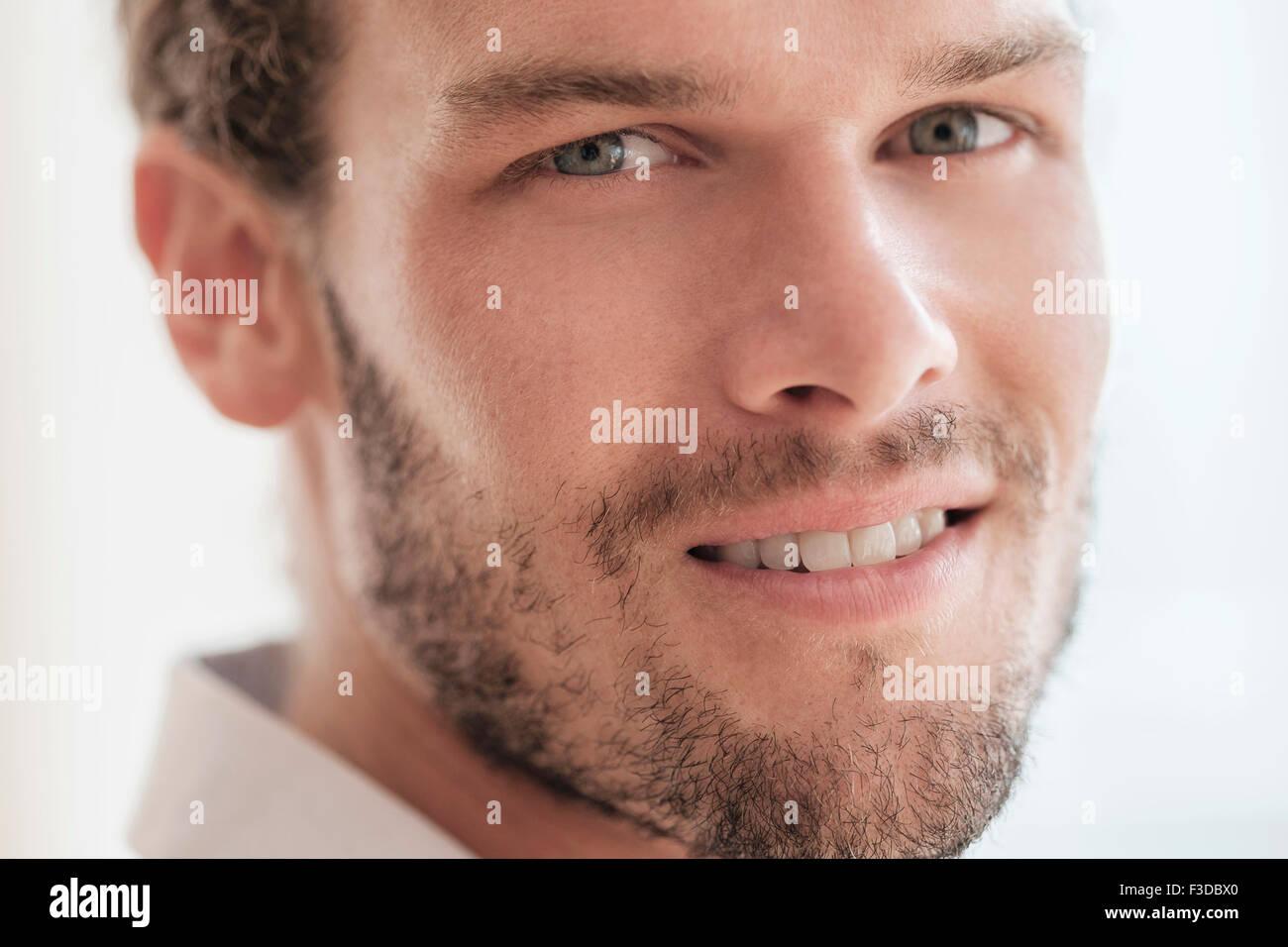 Portrait of mid-adult man Photo Stock